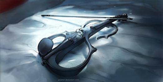 fisheye_placebo__electric_violin_by_yuumei-d59wqaw