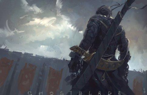 ghostblade_by_wlop-d7jiqua