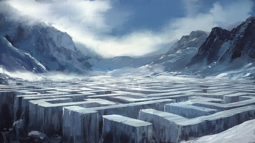 Speedpaint__Ice_Labyrinth_by_I_NetGraFX